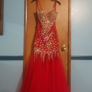 Size 2 mermaid prom/formal